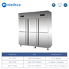 Freezer Dapur Stainless Steel 4 Pintu